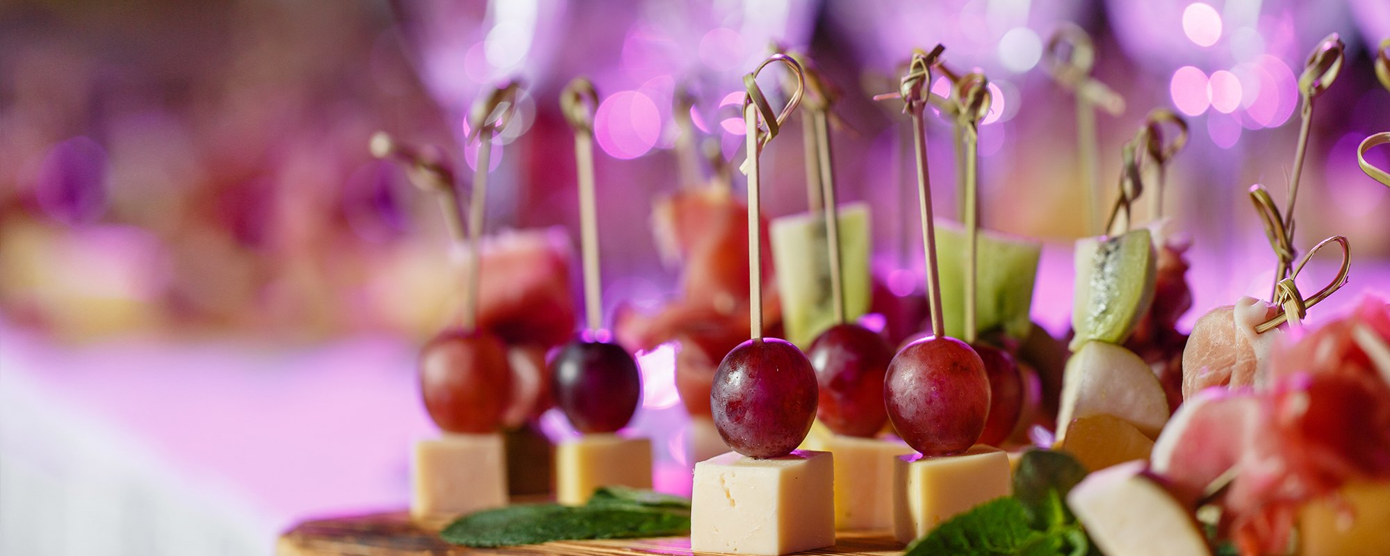 Fingerfood und Canapés